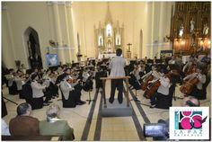 Orquesta Sinfónica de la Prefectura Naval Argentina en el Templo Parroquial - #LaPaz