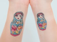 These picture-perfect (temporary) Russian dolls.