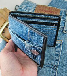 HOTTT Handbag Wallets Money Bags Purses Wallet Denim blue