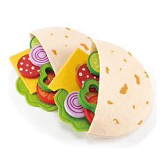 Pita Pocket  Yum! Fill a pita with favorite fixings. Share one with a friend.  Age 3 to 99 Years