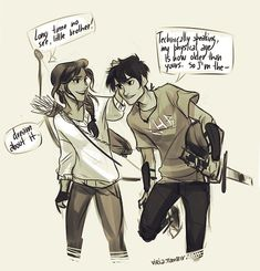 Bianca and Nico di Angelo *viria. I'm dying! Nico looks so happy!(<<<thought you were going to say he looked like Percy Percy Jackson Fan Art, Memes Percy Jackson, Percy Jackson Annabeth Chase, Percy Jackson Books, Percy Jackson Fandom, Percy Jackson Crossover, Percabeth, Solangelo, Piper Mclean