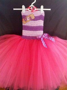 Doc McStuffins tutu dress by Fancythatcreation on Etsy, $35.00