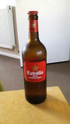 Estrella,  now In bigger bottles