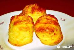 Napokig puha pogácsa | NOSALTY Healthy Freezer Meals, Hungarian Recipes, Scones, Baked Potato, Meal Prep, French Toast, Bakery, Dessert Recipes, Rolls