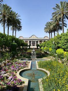 The Bagh-e Narenjestan (Orange Garden) of the Eram Garden — in Shiraz.