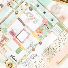 Hi everyone, it's me Violet. I am on the blog today to share the new Reset Girl Ballerina pink Carpe Diem Planner. I planned out my whole week, 'before the pen', using The Reset Girls Stickers. What an awesome collection it is.