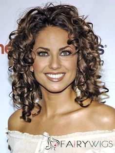 Tidy Barbara Mori Hairstyle Medium Curly Lace Front Human Hair Wigs for Black Women (classy hairstyles medium face shapes) Oval Face Hairstyles, Wedge Hairstyles, Hairstyles With Glasses, Fringe Hairstyles, Feathered Hairstyles, Winter Hairstyles, Messy Hairstyles, Brunette Hairstyles, Hairstyles Videos