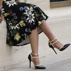 624b7ae8742 Black studded heels by Amazon.com  losangeles  shoes  heels  amazonfashion