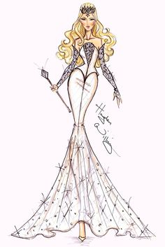 Disney : 'Oz' fashion illustration by Hayden Williams - Glinda Hayden Williams, Disney Style, Disney Art, Moda Disney, Illustration Tumblr, Disney Divas, Creation Art, Fashion Design Sketches, The Villain