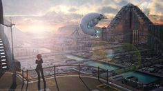 Sunrise Over Cydonia by JacobCharlesDietz on deviantART