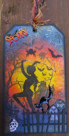 Schaerfchens Kreative Welt: Halloween Tag für ACC