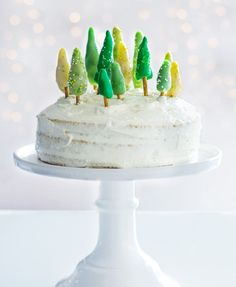 Weihnachtsbaum Torte