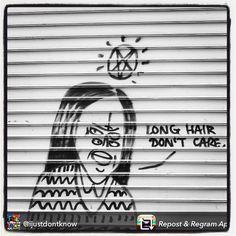 Long Hair, Don't Care. Paris, France. 2015.