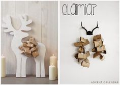 joulukalenteri Candle Sconces, Advent Calendar, Wall Lights, Candles, Home Decor, Homemade Home Decor, Appliques, Candle Wall Sconces, Advent Calenders