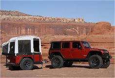 JEEP OFF-ROAD CAMPER TRAILER