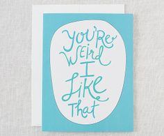 """Funny Valentine Card 