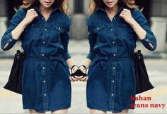 Dress cewek jeans