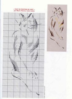 Gallery.ru / Фото #145 - Кошки (схемы) 2 - Olgakam