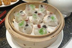 Black Truffle Pesto Har Gow at Island Shangri-La Hong Kong Dim Sum