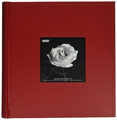 Pioneer Photo Albums 200Pocket Sewn Leatherette Frame Cover Photo Album 4 by 6Inch Red * Check out the image by visiting the link.