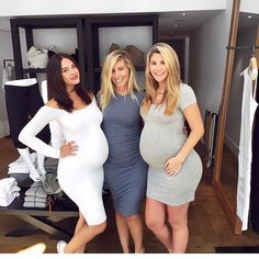 These beautiful mommies-to-be