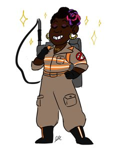 Ghostbusters 2016 fanart by drawjanedraw.tumblr.com (Patty)