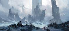 Fortress, Krystian Biskup on ArtStation at https://www.artstation.com/artwork/Y4dwV