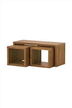 Buy Mode Walnut Cube Long John from the Next UK online shop  £110