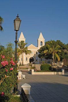 San Jose del Cabo, Mexico   church in san jose del cabo - iglesia de san jose