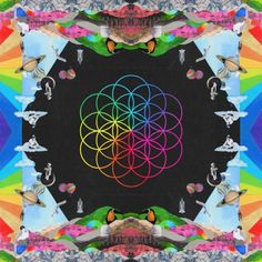 """Grammy Award-winning alternative band Coldplay have returned with their new album """"A Head Full Of Dreams."""" The album was produced by Norwegian duo Stargate together. Coldplay Album Cover, Music Album Covers, Music Albums, Pop Rock, Chris Martin, Cd Cover, Cover Art, Vinyl Cover, Frases Coldplay"""
