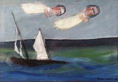 Nikolai Lehto: Shipwreck, 1967 Shipwreck, Finland, Surrealism, Painting, Art, Art Background, Painting Art, Kunst, Gcse Art