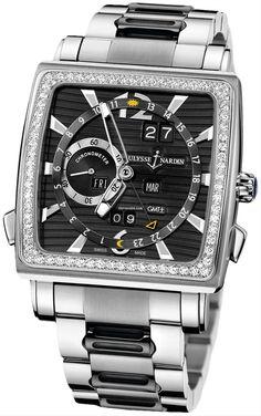 Ulysse Nardin Quadrato Dual Time Perpetual $64,080 #UlysseNardin #watch…