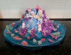 Frozen Themed Easter Bonnet, for my Granddaughter.