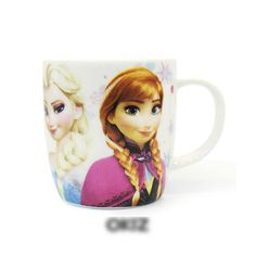 Housewares Household Articles-Frozen Anna & Elsa Mug 3EA [OKID00206]
