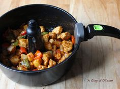 A Glug of Oil - Great Food Everyday: Tefal ActiFry Recipe - Slightly Spicy Sweet and Sour Chicken