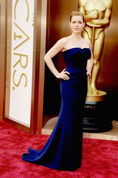 See Every Look from the 2014 Academy Awards Red Carpet: Amy Adams in Gucci