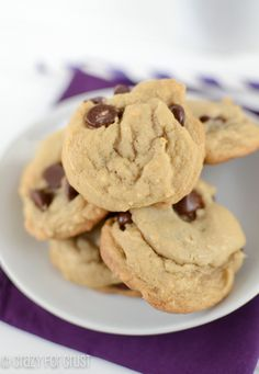 Dairy Free Chocolate Chip Cookies (1 of 3)