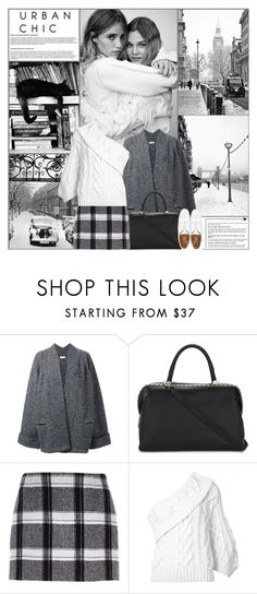 """""""Urban Chic"""" by kittyfantastica ❤ liked on Polyvore featuring Rito, MaxMara, River Island, Rosie Assoulin and Jack Wills"""
