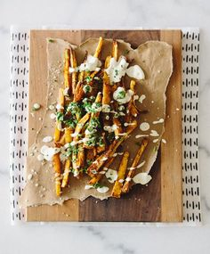 PAPRIKA PARSNIP FRIES via A House in the Hills