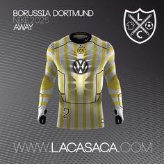 Nike 2025 Fantasy Kits - Dortmund Away
