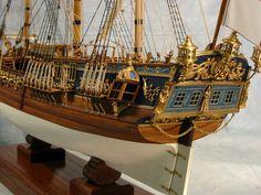 Royal Caroline scale model ship