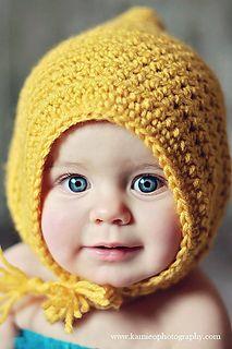Little Maiden Bonnet #free #crochet #pattern by @danyelpink