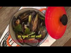 Steamed Mussels in Lemongrass broth Jitlada Style