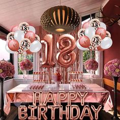 Helium Number Balloons, Gold Confetti Balloons, Table Confetti, 21 Balloons, 18 Birthday Party Decorations, Gold Birthday Party, 21 Birthday, Garden Party Decorations, Happy 21st Birthday