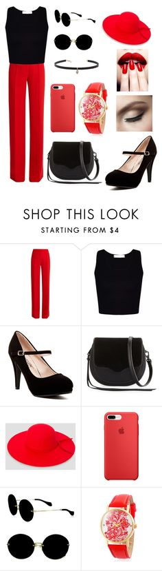 """""""Untitled #26"""" by basoz13 ❤ liked on Polyvore featuring Marco de Vincenzo, Rebecca Minkoff, Ashley Stewart, Miu Miu and Carbon & Hyde"""