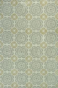 Show details for Kas Rugs Allure 4056 Silver/Gold Suzani