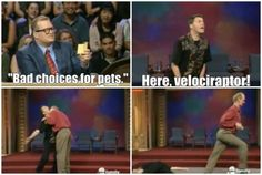 Colin Mochrie: One of the funniest, and perhaps the most awkward, men on television.