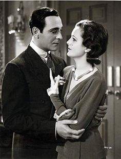 Mary Astor and Ricardo Cortez in Men of Chance (1931)