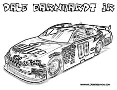 Race Car Pictures to Print | Car Coloring Pages | Cars | NASCAR | Free Coloring Pages | Car ...