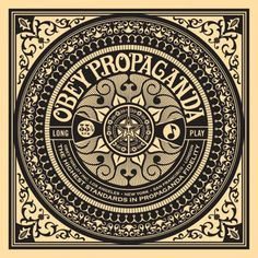 Shepard Fairey World Star Album Cover Print Signed Number Peace Art Obey